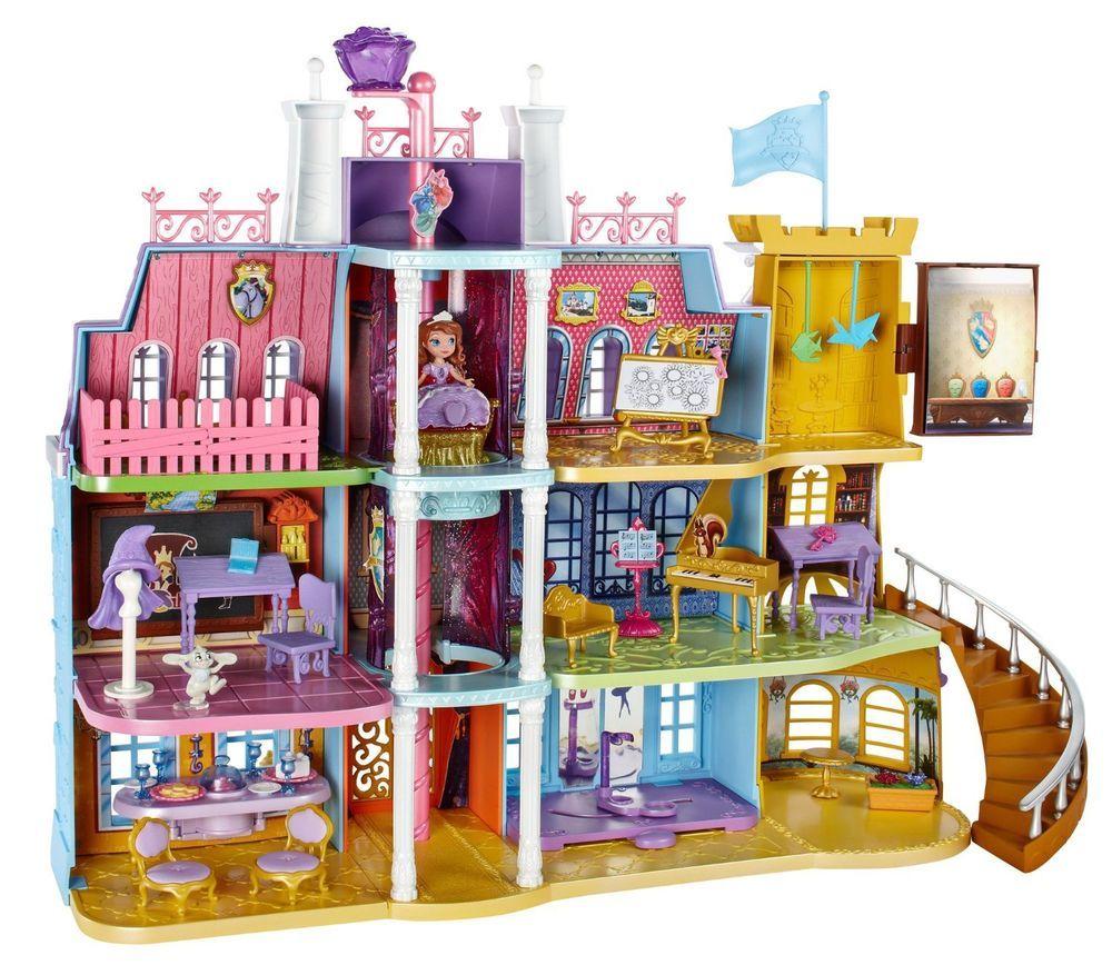Disney Sofia The First Royal Prep Academy Kids Princess Doll House