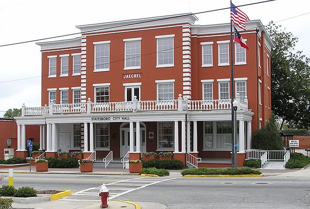 Jaeckel Hotel Statesboro Ga One Time Home To Bluesman Blind Willie Mctell