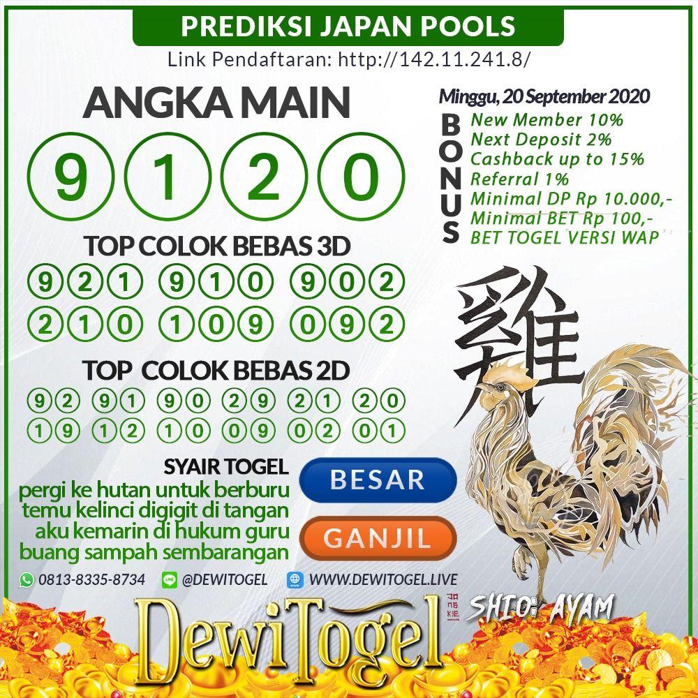 Togel Wap Prediksi Jepang Minggu 20 September 2020 Jepang 15 Agustus 24 Agustus