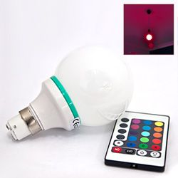 Rc Colour Changing Light Bulb With Images Color Changing Light Bulb Light Bulb Bulb