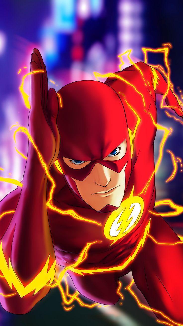 magnificent wallpaper Flash run fast superhero dc comics