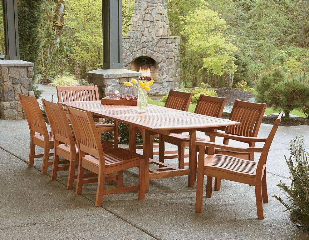 Attractive Outdoor Furniture | Eucalyptus Wood Outdoor Furniture