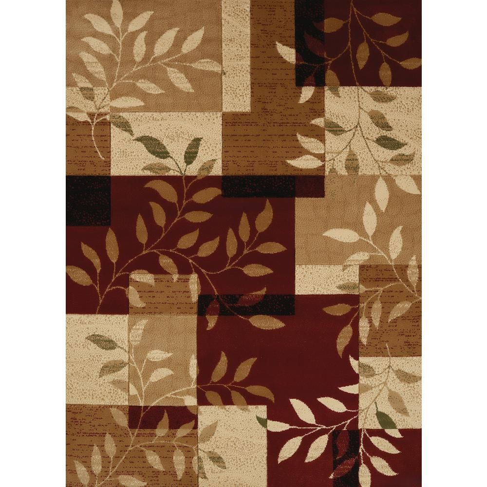United Weavers Studio Sapphire Scarlet 2 Ft X 3 Ft Area Rug Red