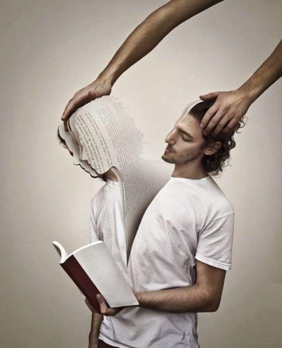 Раздвоение личности.  Автор: Martin De Pasquale.