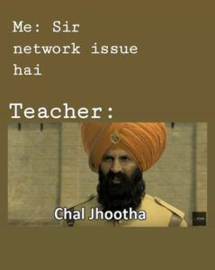Network Issue In Online Class