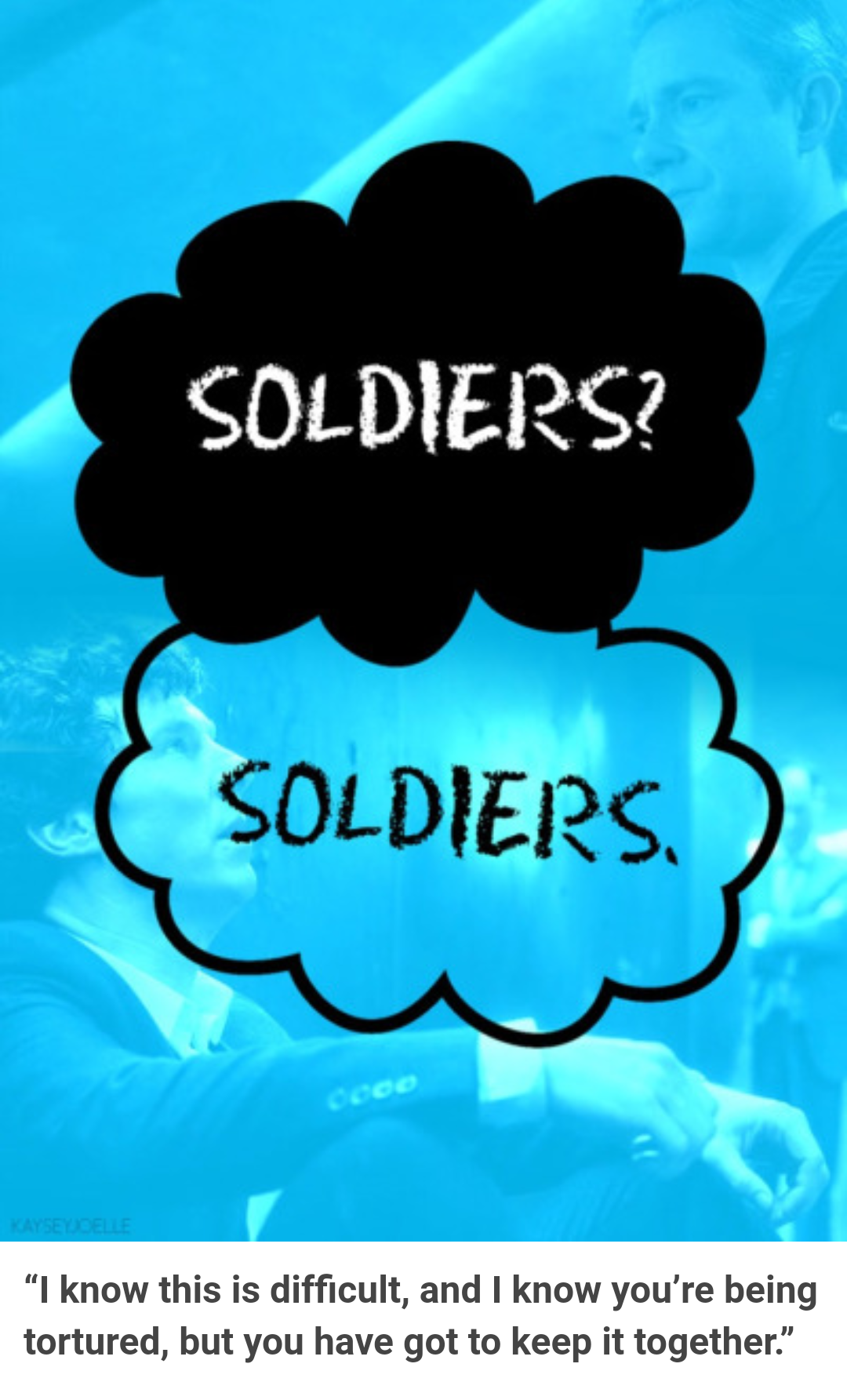 EXACTLY what I thought when they said soldiers? Soldiers.<< same I do okay?okay. With so much stuff