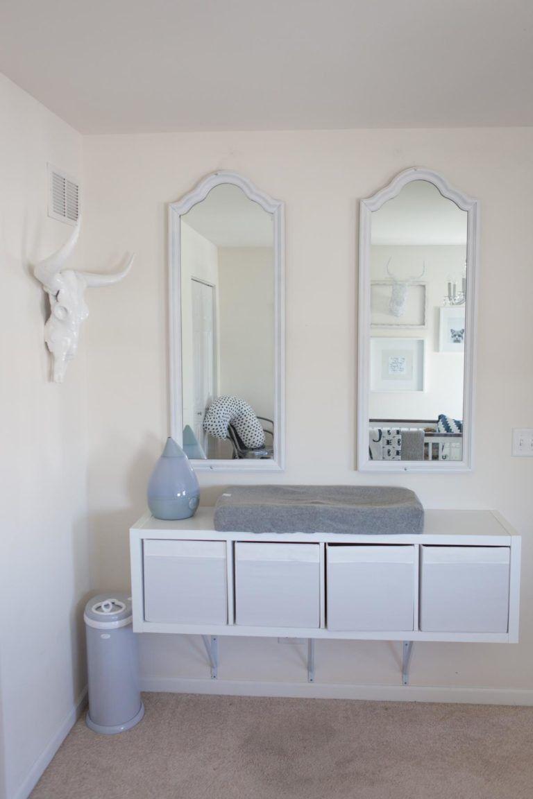 IKEA Kallax changing table | bby | Pinterest | Ikea y Decoración