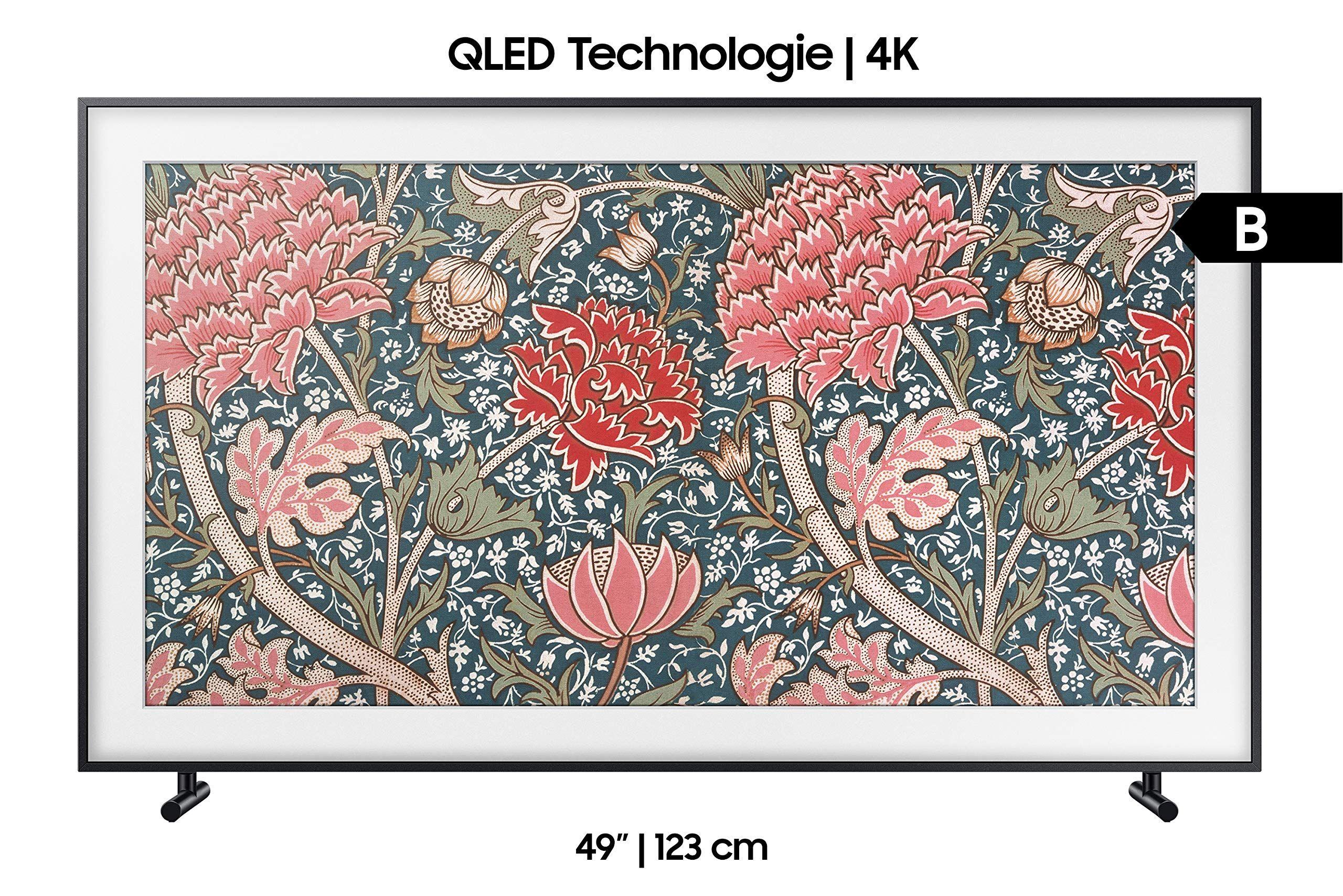 Samsung Ls03r The Frame 123 Cm 49 Zoll Qled Lifestyle Fernseher Art Mode Ultra Hd Hdr Smart Tv Modelljahr 2019 In 2020 Framed Tv Uhd Tv Samsung Tvs
