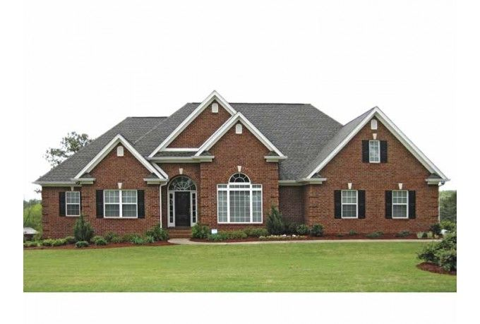 New American Home Kbhome Ranch Style House Plans Brick House Plans Ranch House Plans