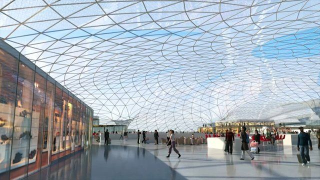 Assim será o novo aeroporto da Cidade do México, projetado por Norman Foster e Fernando Romero