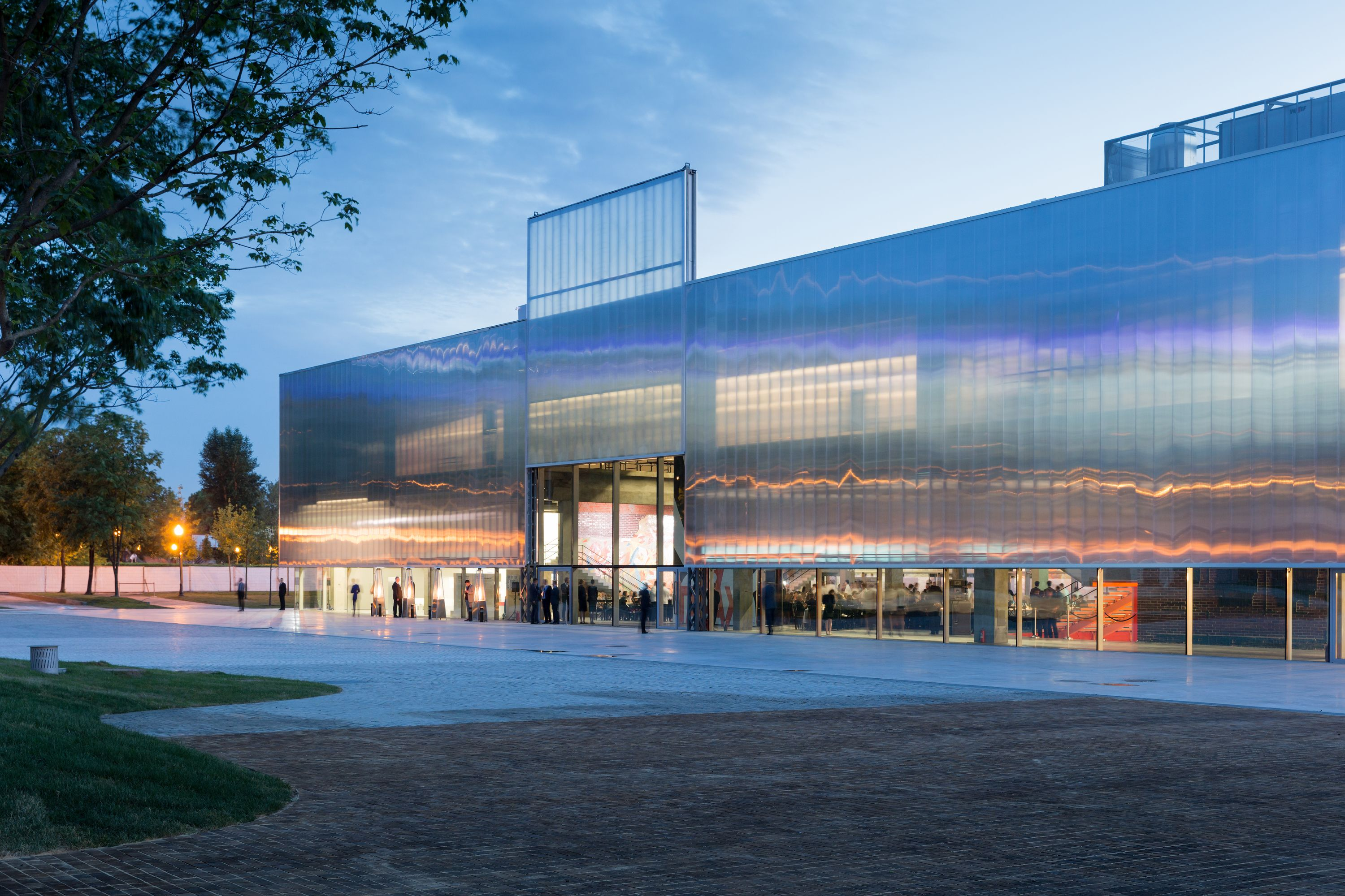 Garage Museum Of Contemporary Art Polycarbonate Pinterest - Best contemporary museums in us