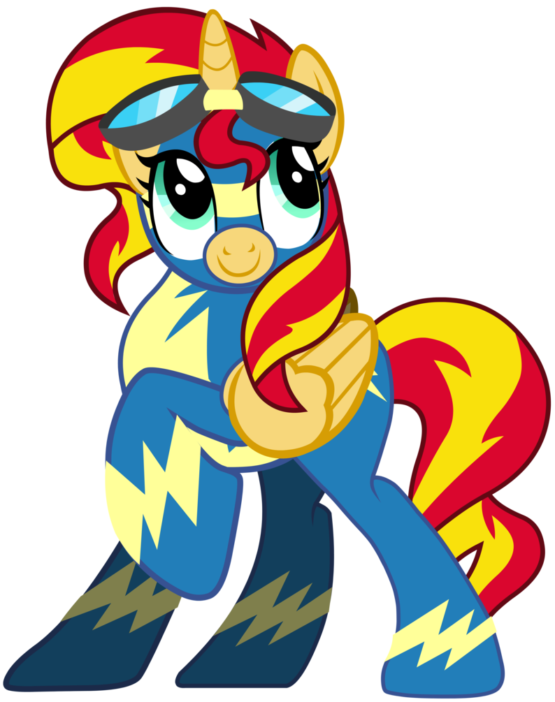 Sunset Shimmer And Sunset Shimmer by Vector-Brony on