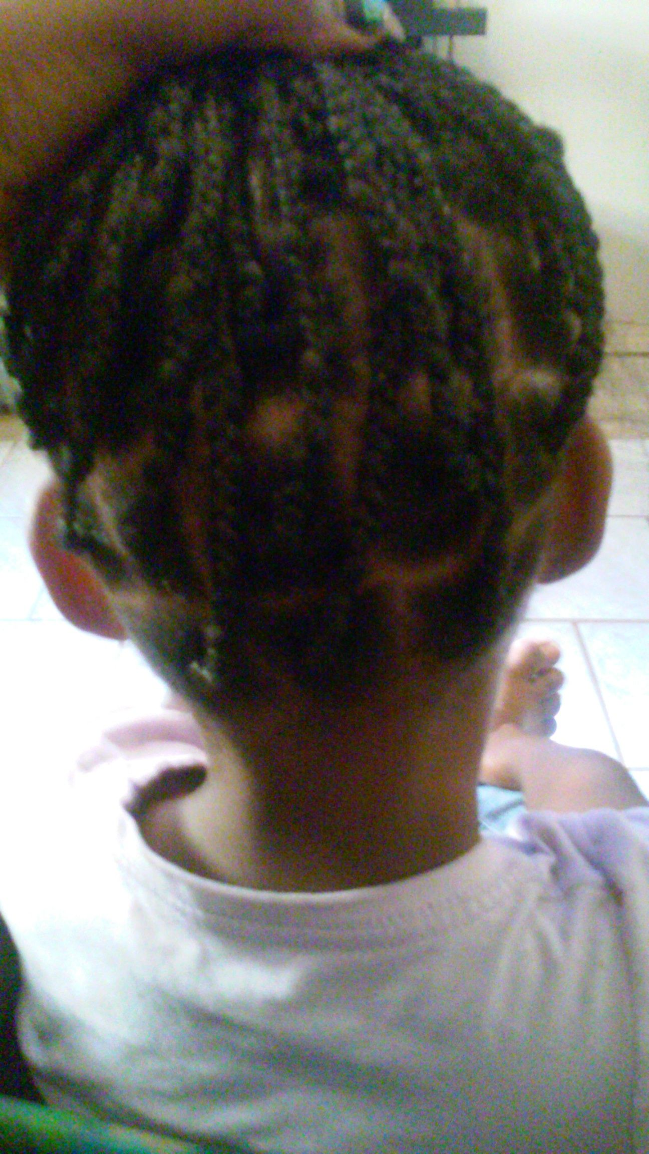 I had did box braid for my sister shes natural this is a safe and