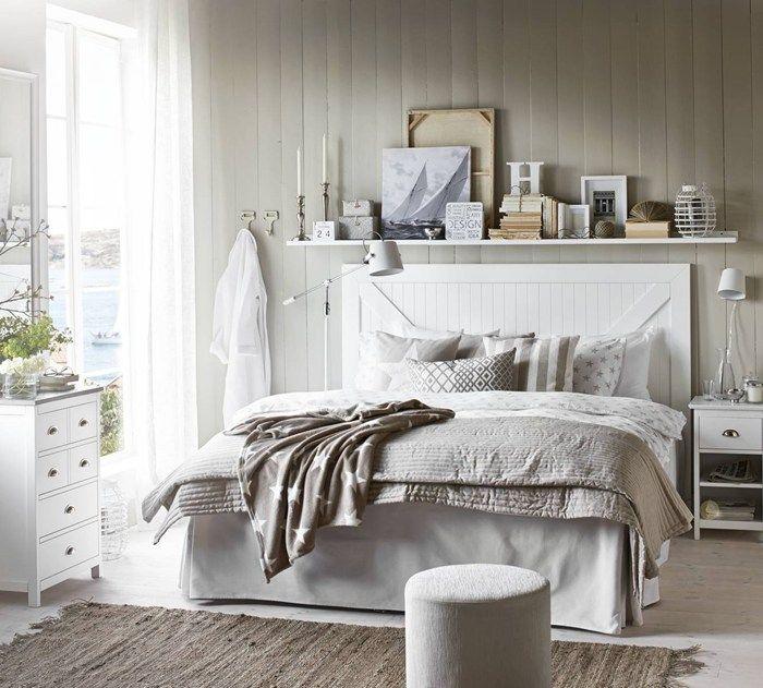 Strömstad huvudgavel i vitlack från Mio Sovrum Pinterest Sovrum, Inredning och För hemmet