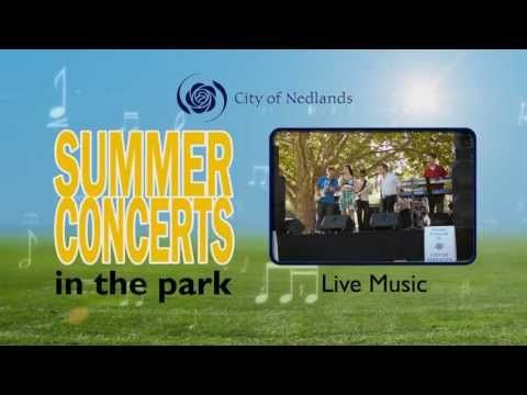 Summer Concerts in the Park | City of Nedlands February