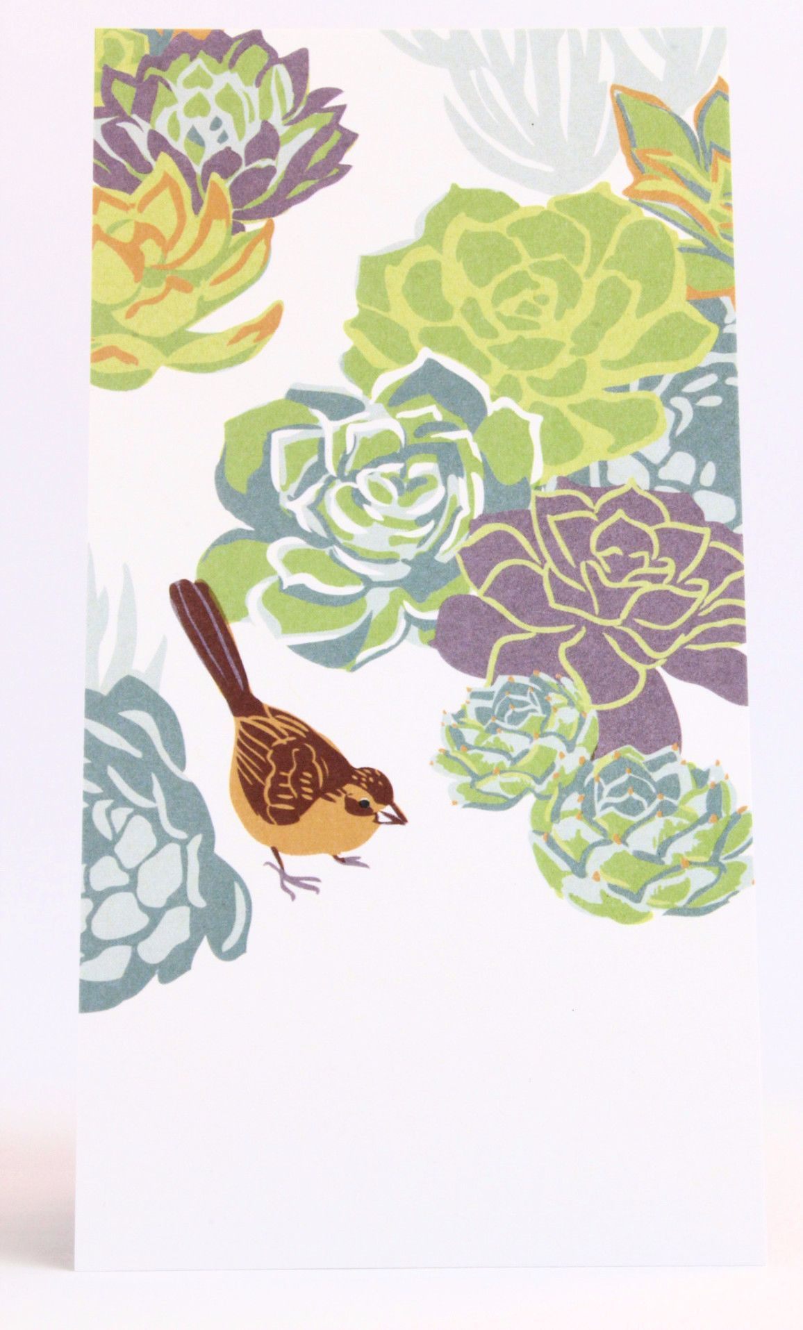 Succulent towhee greeting cards are simple yet sophisticated to succulent towhee greeting cards are simple yet sophisticated to help you keep in touch in style printed on 100 wind powered recycled paper kristyandbryce Images