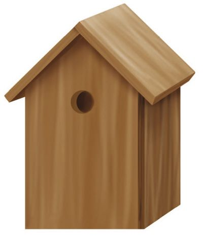 Trixie 55641 Nesting Box Kit 12 x 26 x 12 cm-cm BIRD