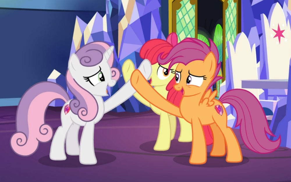 2222596 Apple Bloom Cropped Cutie Mark Earth Pony Female Friendship Throne Growing Up Is H My Little Pony Comic Mlp My Little Pony My Little Pony List A collection of artwork of scootaloo. mlp my little pony