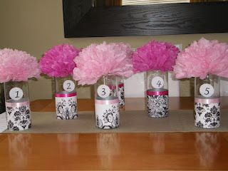 Astonishing Easy Pom Pom Centerpieces Designs By Cris In 2019 Pom Home Interior And Landscaping Ologienasavecom
