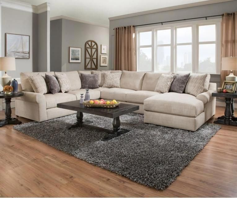 Weston Putty 4 Piece Sectional In 2020 Furniture Sectional Sofa