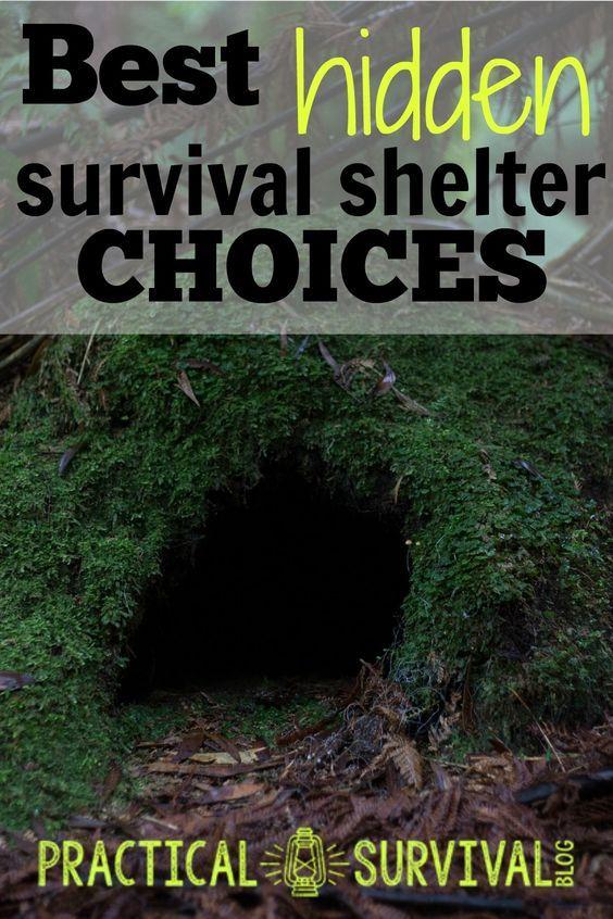 Best Hidden Survival Shelter Choices