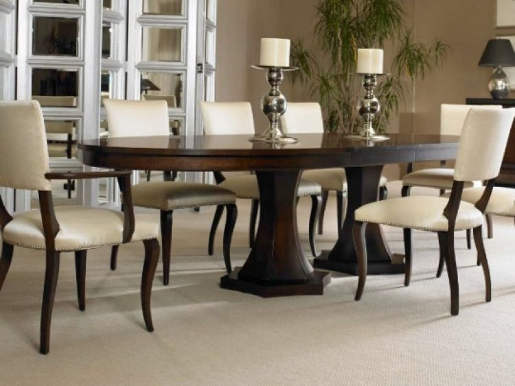 Oval Dining Room Table Sets Key Interior  The Home  Pinterest Pleasing Oval Dining Room Table Sets Design Ideas