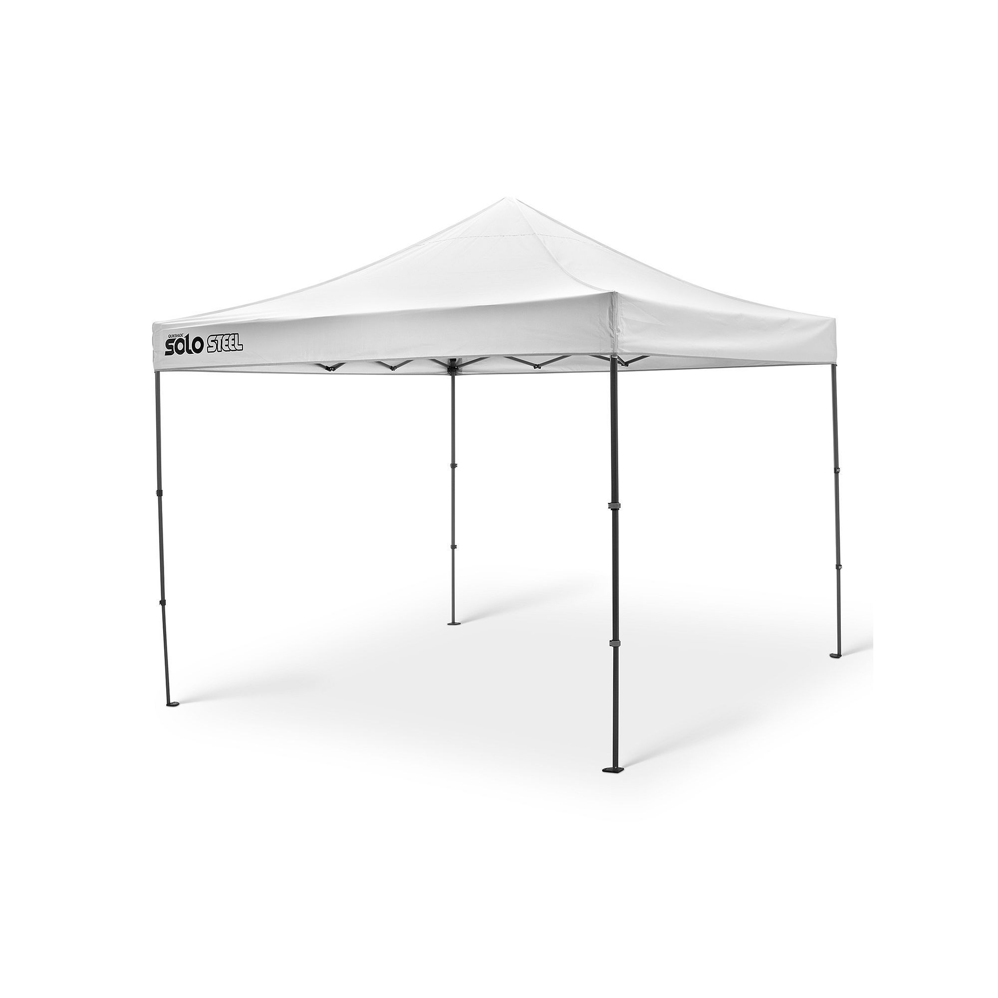 Quik Shade Solo Steel 100 10 X 10 Instant Canopy Instant Canopy Canopy Steel Canopy