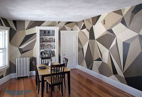 Wall Paint Ideas wall painting ideas dining | home decorations | desgnplanet