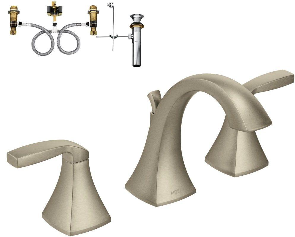 Moen T6905 9000 Widespread Bathroom Faucet Bathroom Faucets Faucet