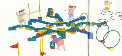 Education physique motricit la maternelle parcours - Parcours du combattant jeu ...