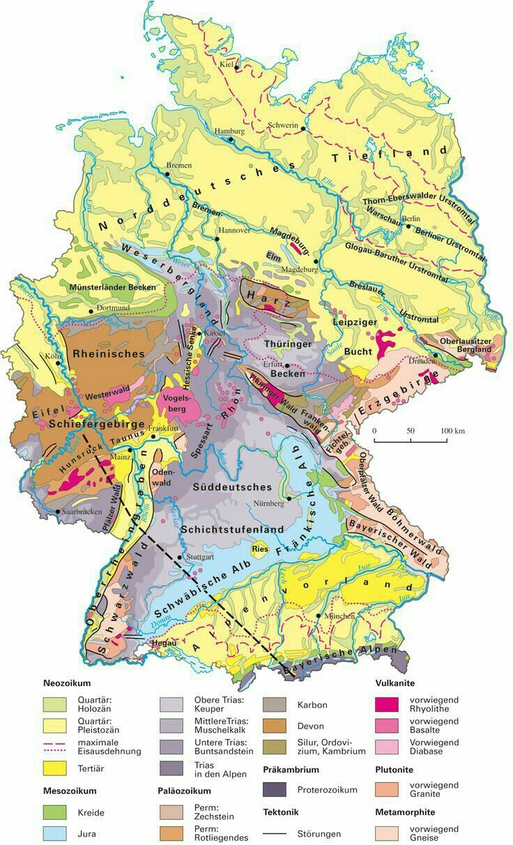 Pin By None On Geology Germany Map Historical Maps German History
