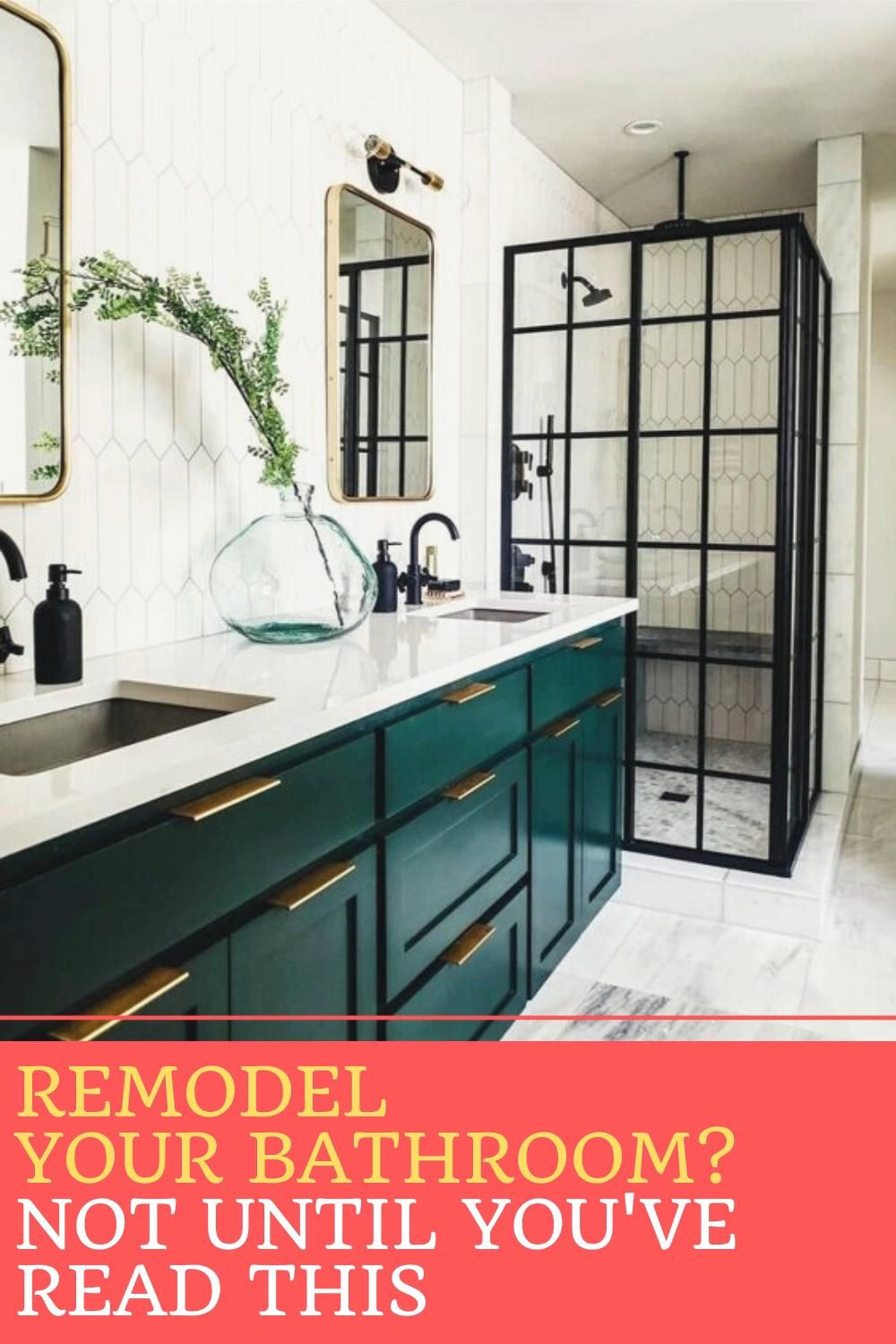 Photo of Remodel Your Bathroom? Not Until You've Read This