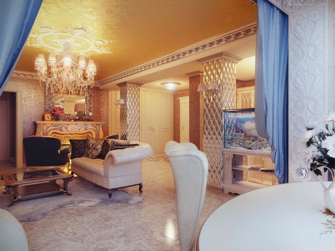 Best Regal Cream Blue Lounge 400 x 300
