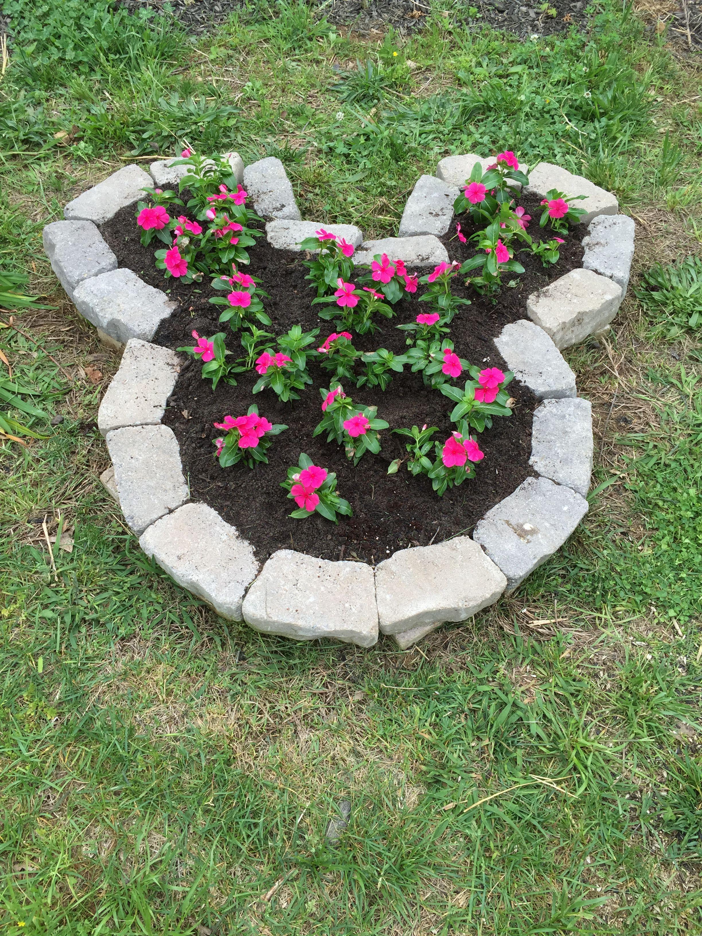 Disney Diy Mickey Head Flower Planter Disney Garden Diy Garden