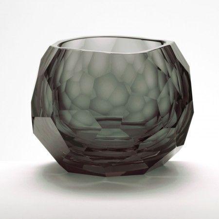 Glacier Double Old-Fashioned Glass, Smoke - Lighting
