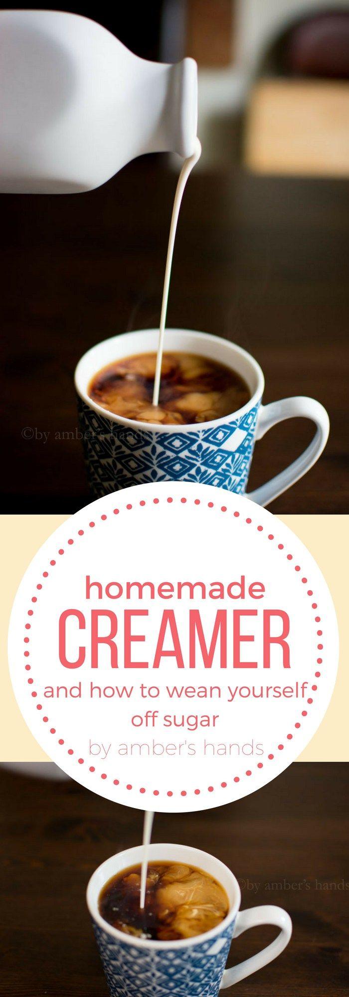 Homemade Creamer Recipe Homemade coffee creamer, Low
