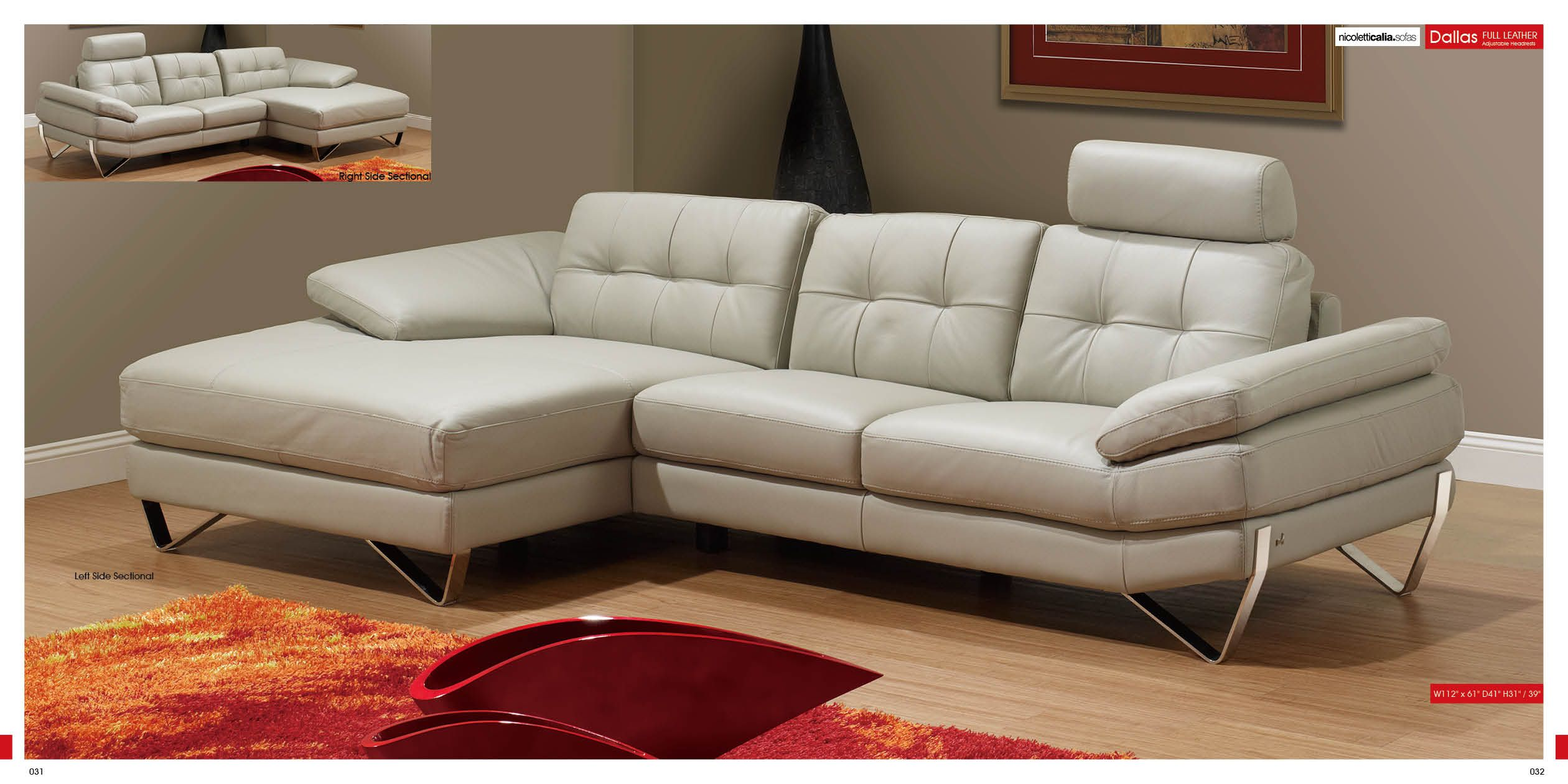 Elegant Living Room Furniture Sectionals Dallas Sectional