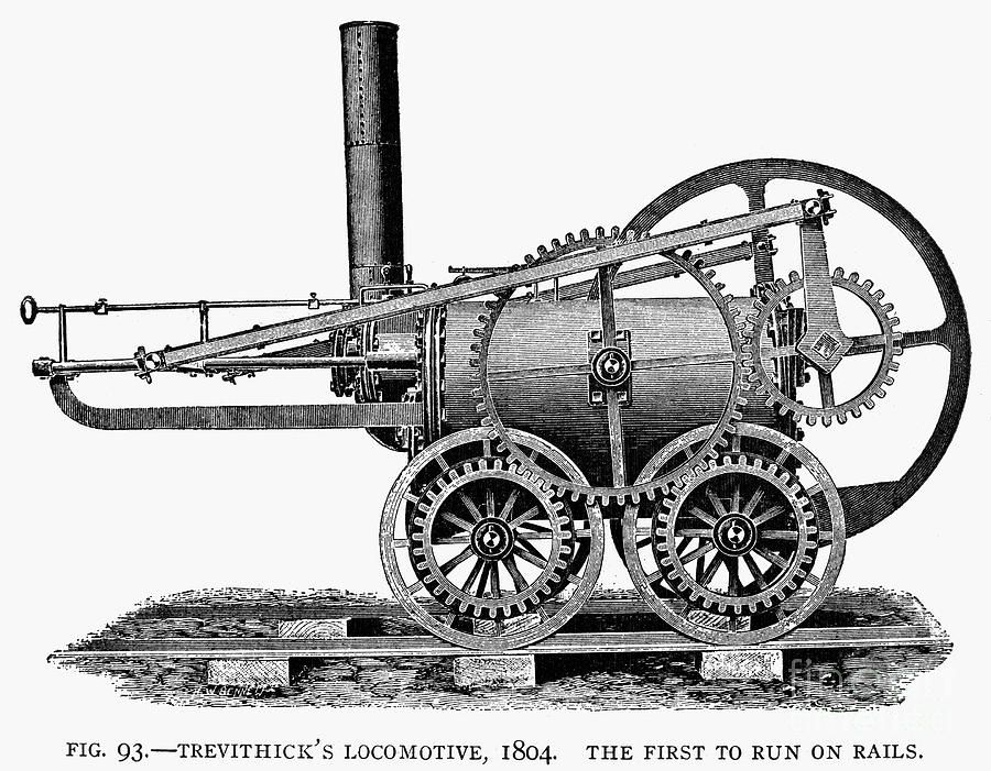 England Locomotive 1804 By Granger