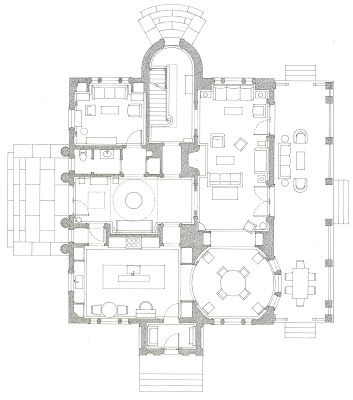 A House In The Country Peter Pennoyer Katie Ridder Floor Plans