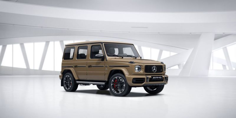 The 2020 Mercedes Amg G63 Is Getting A Trail Package With Legit