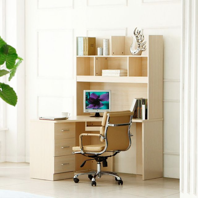 mesa de esquina estantera escritorio de la computadora esquina minimalista u