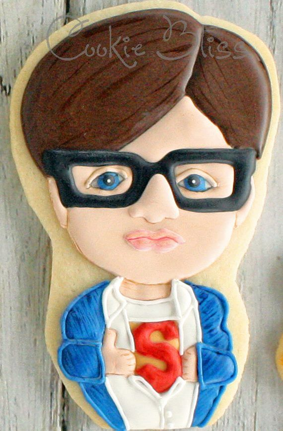 Superman / Clark Kent Cookies