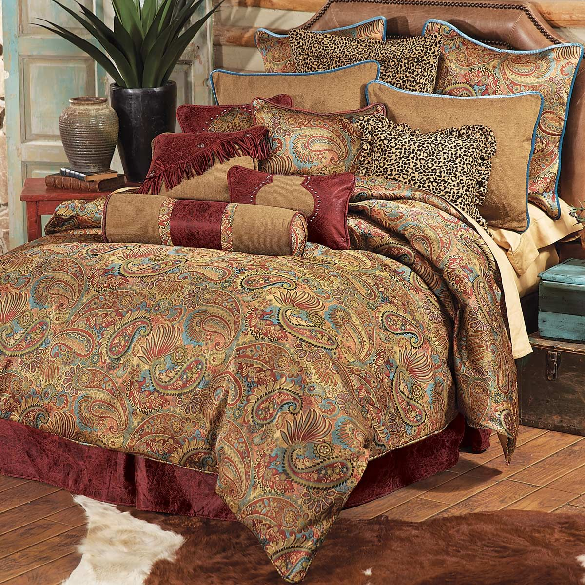 Go To Black Forest Decor Now And Browse Our Enormous Selection Of Rustic  Bedding, Like This Queen Size San Angelo Comforter Set!