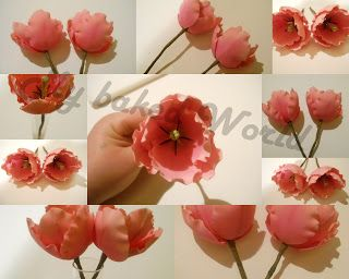 Tulips step by step