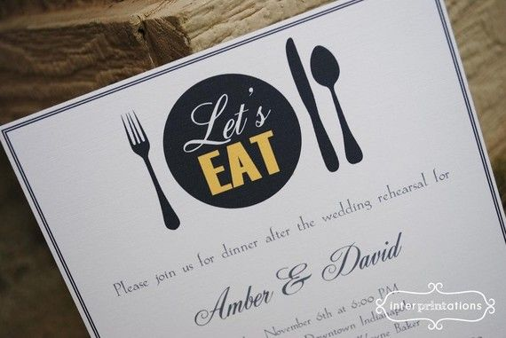 Etiquette Dinner Invitation But Can Be Redesigned For Lunch N