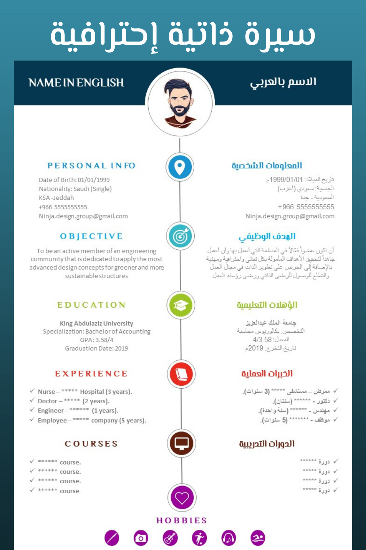 سيرة ذاتية ثنائية اللغة In 2021 How To Apply Dedication Names