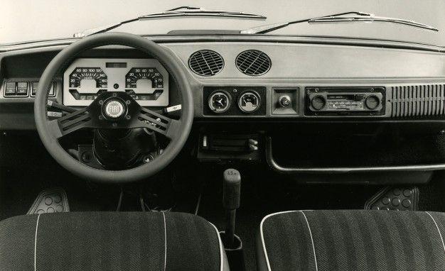 Fiat 127 Interior Interieur Voiture Voiture Interieur