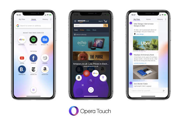 Opera Touch browser for iPhone released Ios news, Iphone
