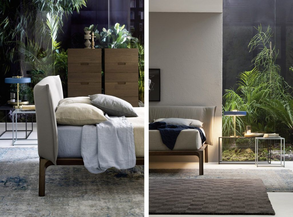 Novamobili Bett Colette - Designermöbel von Raum + Form