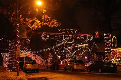 Christmas Light Displays In St Louis.Christmas Lights In St Louis Hills Candy Cane Lane Angel